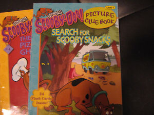 Scooby-Doo Level 1 Picture Clue books