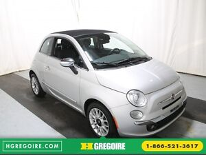 2013 Fiat 500 Lounge AUTO A/C CUIR TOIT MAGS
