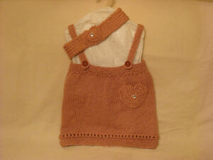 lovely hand-made jumper and headband