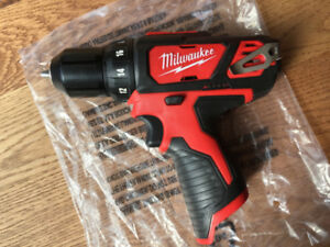 "Milwaukee M12 3/8"" Drill Driver Brand New"