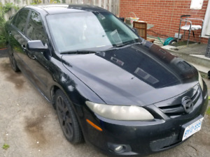 2007 Mazda 6 GT for parts or project car