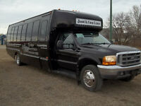 Just4Fun limo service, based out if Weyburn Sask.