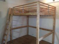 Ikea Fjelldal double loft bed