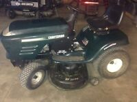 Craftsman 17 hp tractor-mower $ 600