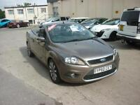 2010 Ford Focus CC 2.0 CC-2 Convertible Finance Available