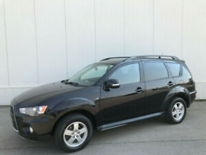 2011 MITSUBISHI OUTLANDER SE, 7 PASSENGER, ONE YEAR WARRANTY