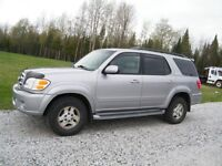 2002 TOYOTA SEQUOIA LIMITED - NO TAX
