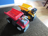 $40 FOR BOTH - Fire truck and dump truck