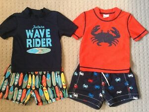 12M Boys Carter's Swimwear