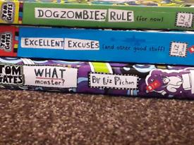 3 books of Tom Gates