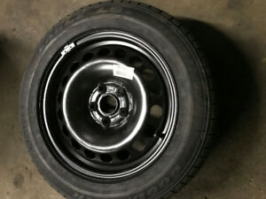 New 215/55/16 Good year tire on rim