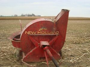 New Holland forage blowers