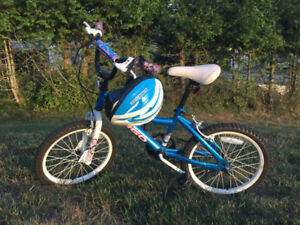 Child's Bike with Helmet