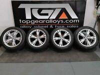 "21"" Genuine OEM Audi Q8 S-Line Alloy Wheels & Tyres 4M8601025H"