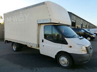 2012 Ford Transit T350 4m LUTON + Tail-lift 2.2 TDCi 125ps, VERY LOW MILES, FSH