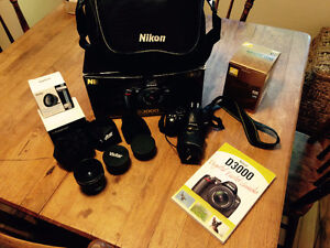 Nikon D3000 Starter Kit- new price!