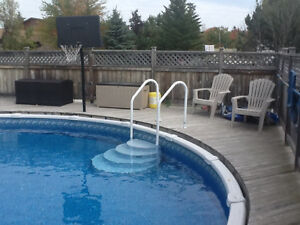 27' Swimming Pool everything included + Patio Deck 40'x35'