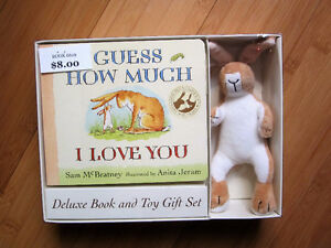 NEW!  Guess How Much I Love You - Book/Toy Set