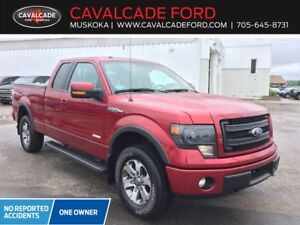"2014 Ford F150 4x4 - Supercab Fx4 - 145"" WB"