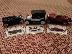 Collectible car models by the National Motor Museum Mint