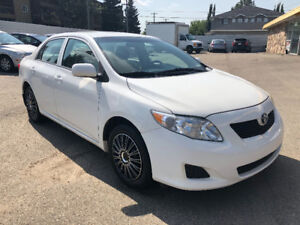 2010 TOYOTA COROLLA CE 140350 KM FULLY DETAIL INSPECTED