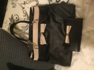 Authentic Kate Spade handbag and matching wallet