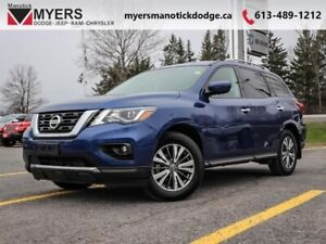 2019 Nissan Pathfinder 4x4 SV Tech  - Navigation - $218.52 B/W