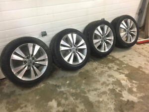 225/50R17 Nokian Winter Tires/Honda Rims