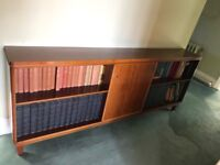 FREE Large wooden book shelves