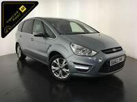 2013 63 FORD S-MAX TITANIUM TDCI AUTO 7 SEATS SERVICE HISTORY FINANCE PX WELCOME