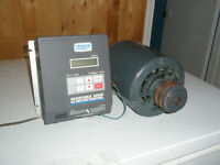 Leeson motor controller with 1 hp motor