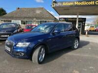 2017 Audi Q5 3.0 TDI V6 S line S Tronic quattro (s/s) 5dr SUV Diesel Automatic