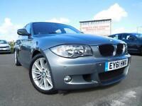 2011 61 BMW 1 SERIES 2.0 118D M SPORT 5DR 141 BHP DIESEL