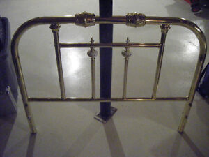 Single Brass Bed