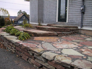 FLAGSTONE for landscaping