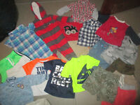 LARGE BOX OF BOY CLOTHES