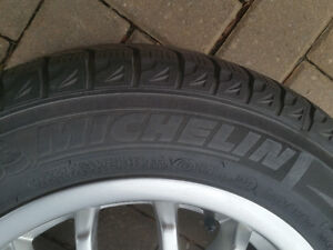 Michelin X-Ice winter tires on alloy rims Windsor Region Ontario image 2