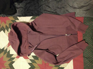 Purple size 10 Lululemon original scuba sweater