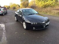 ALFA 159 DIESLE- 6 Speed Manual- MOT April 17- FSH- 2 Keys- **Mnagers Special- 3 Months Warranty**