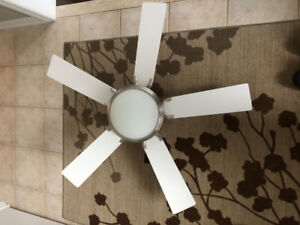 """42"""" 5 Blade Ceiling Fan & Light with Remote Control"""