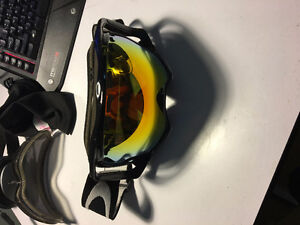 Oakley Crowbar Ski Goggles with 2 additional lenses