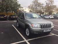 Jeep Grand Cherokee 2.7 Crd ideal export need towing