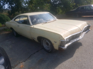 1967 CHEVROLET IMPALA  *SS* FASTBACK (MATCH NUMBER)