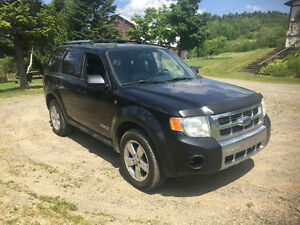 2008 Ford Escape limited Cuir