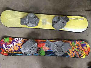 Youth snowboards