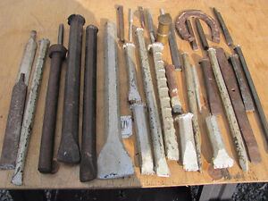 OLD CHISELS and PUNCHES