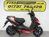 Aprilia SR50, Black, 2 stroke, Rides well, New MOT, Warranty