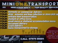 Man and van cardiff . Minionz Transport .Punctual and reliable