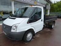 Ford Transit, Tdci Mwb Single Cab Tipper 10ft Bed