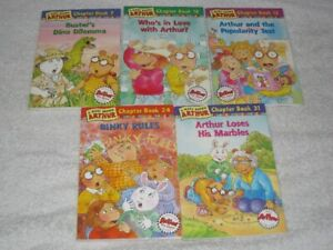 ARTHUR - CHAPTERBOOKS - CHECK IT OUT!